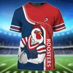 Sydney Roosters -  3D Tshirt  -  TT99-675