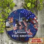 Custom Wooden Sign - I Love America - Nvc97 7