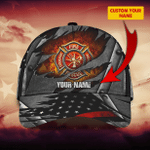 Firefighter - Personalized Name Cap - LTA98