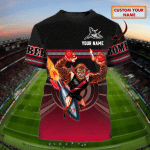 Bombers - Personalized Name 3D T-Shirt - Lta98
