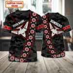 BOMBERS - RB- Personalized Name 3D T Shirt - T2k-422