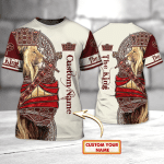 THE KING - Personalized Name 3D Tshirt 56- LTA98