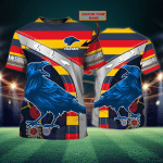 Adelaide Crows - Personalized Name 3D Tshirt 97 - Nvc97