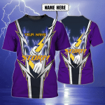 STORM - Personalized Name 3D TShirt 01 - NVC97