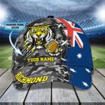 RICHMOND TIGERS - Personalized Name Cap 01 - NVC97