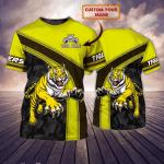 Richmond Tigers - Personalized Name 3D Tshirt - NVC97 109