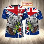 Koala - Personalized Name 3D Tshirt - NVC97 108