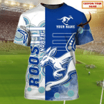 North Melbourne Kangaroos - Personalized Name 3D Tshirt 81 - Nvc97