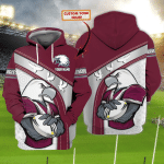 Sea Eagles - Nvc97 - Personalized Name 3D Hoodie 75 - Nvc97
