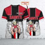 Saint Kilda - Personalized Name 3D T Shirt - Nvc97