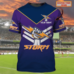 Storm - Personalized Name 3D Tshirt 79 - Nvc97