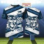 CATS AUSTRALIA - Personalized Name 3D Tshirt 05 - NVC97