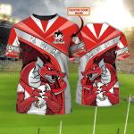 Dragons - Personalized Name 3D Tshirt - NVC97 115