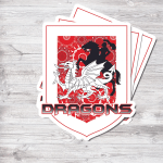 STICKER Dragons - Nvc97