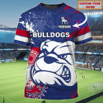 Western Bulldogs - Personalized Name 3D Tshirt 70 - Nvc97