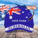 Australia - Personalized Name Cap - NVC97 - 140