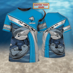 Cronulla-Sutherland Sharks - Personalized Name 3D Tshirt 8686 - NVC97