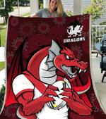 St. George Illawarra Dragons - Blanket 5 - Nvc97