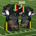 Penrith Panthers - Personalized Name 3D T-Shirt - NVC97 107