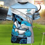 Cronulla-Sutherland Sharks - Personalized Name 3D Tshirt 74 - Nvc97