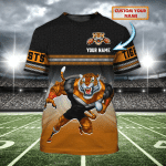 Wests Tigers - Personalized Name 3D T-Shirt - Nvc97
