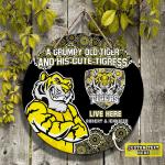 Custom Wooden Sign - Richmond Tiger- Nvc97