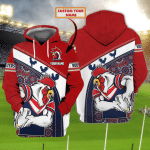 Sydney Roosters - Nvc97 - Personalized Name 3D Hoodie 76 - Nvc97