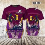 Melbourne Storm - Personalized Name 3D T-Shirt - NVC97 108