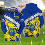 Parramatta Eels - Personalized Name 3D Hoodie 73 - Nvc97