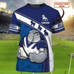 Bulldogs - Personalized Name 3D Tshirt 77 - Nvc97