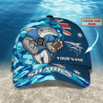 Sharks - Personalized Name Cap - Nvc97
