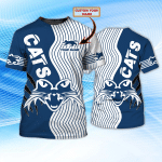 CATS - Personalized Name 3D Tshirt 06 - NVC97