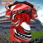 Dragons - Personalized Name 3D Tshirt - Nvc97-628