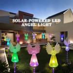 Solar-Powered LED Angel Light
