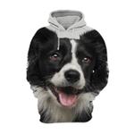 Unisex 3D Graphic Hoodies Animals Dogs Border Collie