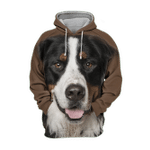 Unisex 3D Graphic Hoodies Animals Dogs Bernese Mountain Adorable