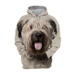 Unisex 3D Graphic Hoodies Animals Dogs Bouvier des Flandres