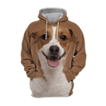 Unisex 3D Graphic Hoodies Animals Dogs Jack Russell Terrier Happy