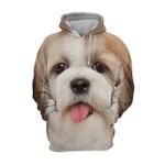 Unisex 3D Graphic Hoodies Animals Dogs Shih Tzu Dog Puppy