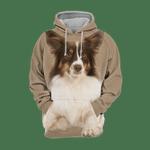 Unisex 3D Graphic Hoodies Animals Dogs Miniature American Shepherd