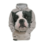 Unisex 3D Graphic Hoodies Animals Dogs American Bully Pitbull