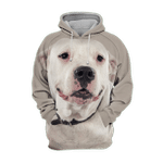 Unisex 3D Graphic Hoodies Animals Dogs Argentinian