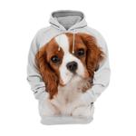 Unisex 3D Graphic Hoodies Animals Dogs Cavalier King Charles Spaniel Puppy