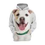 Unisex 3D Graphic Hoodies Animals Dogs Cross Breed Happy