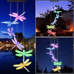 Solar-Powered Dragonfly Lights