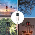 Hanging Solar Lantern Wind Chime Light-Tree of life Appearance