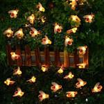 Solar-Powered LED Honeybee Light