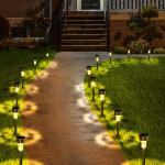 10 PCS Solar Garden Lights