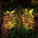 2pac LED Pineapple Garden Lights