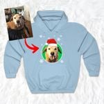 Personalized Dog Colorful Oil Painting Men & Women Hoddie Christmas for Dog Lovers